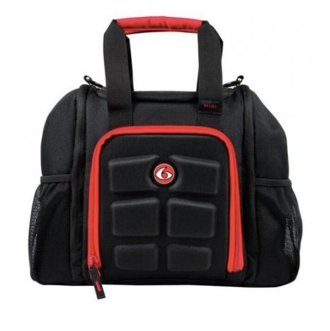 6 Pack Bag Innovator Mini Black/Red