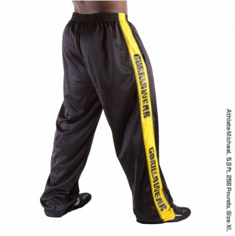 TRACK PANT - BLACK/YELLOW 2.0 (AKCIÓS)
