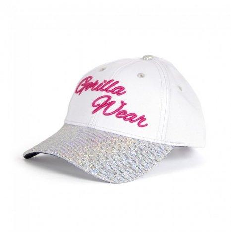 LOUISIANA GLITTER CAP - WHITE/PINK