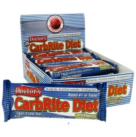 Doctor's CarbRite Diet Blueberry Cheescake