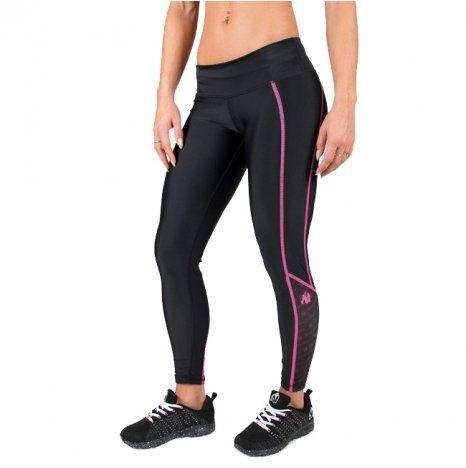 CARLIN COMPRESSION TIGHT - BLACK/PINK