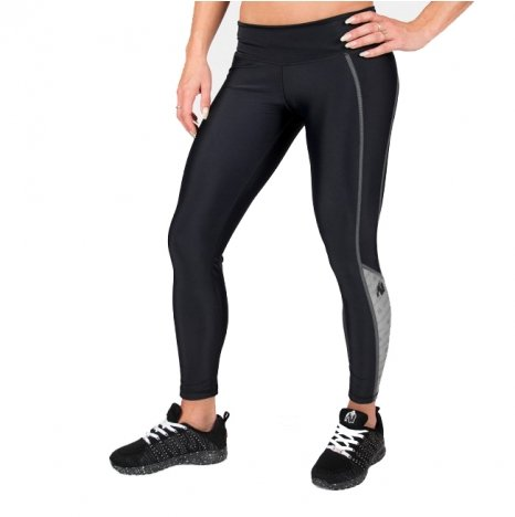CARLIN COMPRESSION TIGHT - BLACK/GRAY
