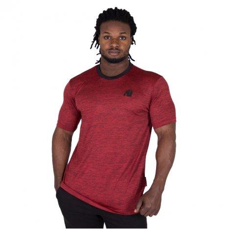 ROY T-SHIRT - RED/BLACK