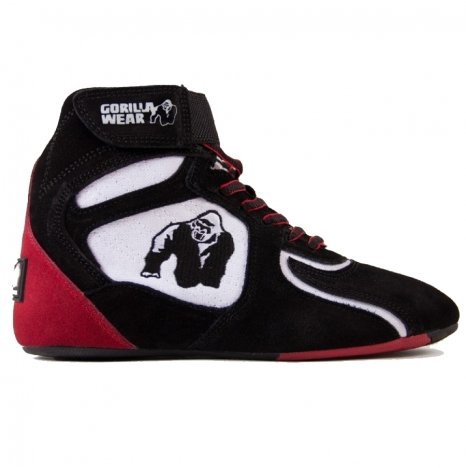 CHICAGO HIGH TOPS - BLACK/WHITE/RED