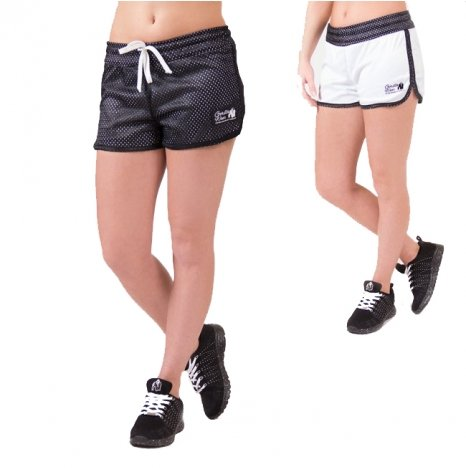 MADISON REVERSIBLE SHORT - BLACK/WHITE