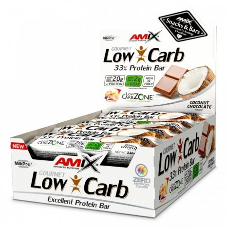 AMIX LOW CARB Coconut Chocolate 33% Proteine