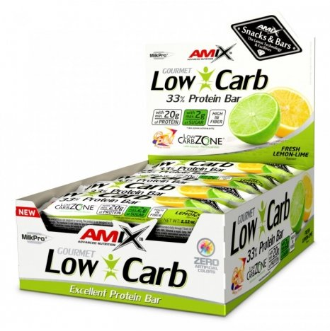 AMIX LOW CARB Fresh Lemon-Lime 33% Proteine