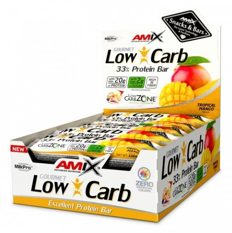 AMIX LOW CARB Tropical Mango 33% Proteine