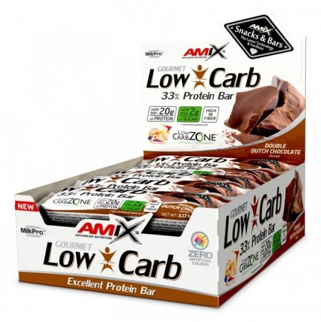 AMIX LOW CARB Double Dutch Chocolate 33% Proteine