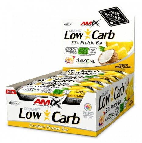AMIX LOW CARB Hawaii Pina Colada 33% Proteine