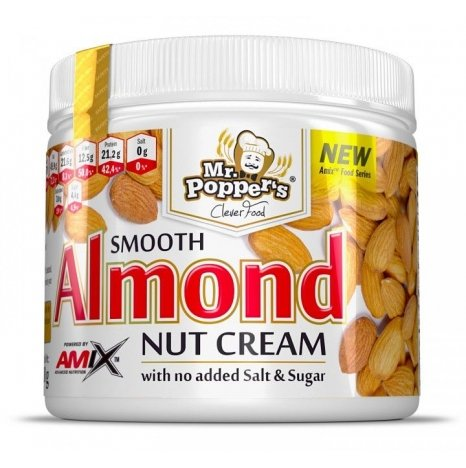 AMIX MR POPPERS ALMOND 300g NUT CREAM
