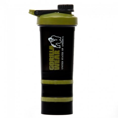 SHAKER 2 GO - BLACK/ARMY GREEN