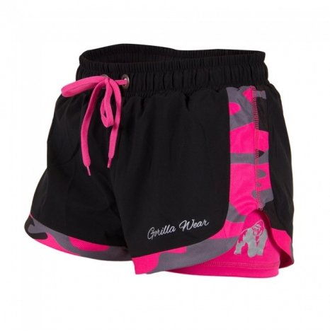 DENVER SHORT - BLACK/PINK