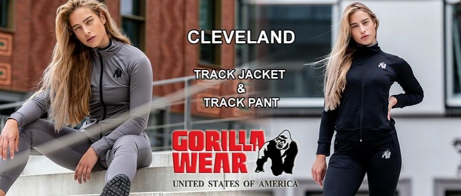 Új Cleveland női felső és nadrág